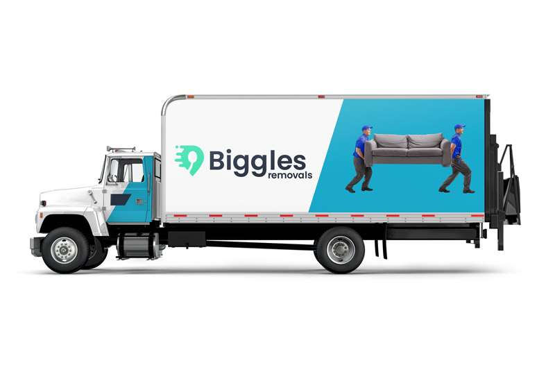 Biggles-Removals Shared Load Truck