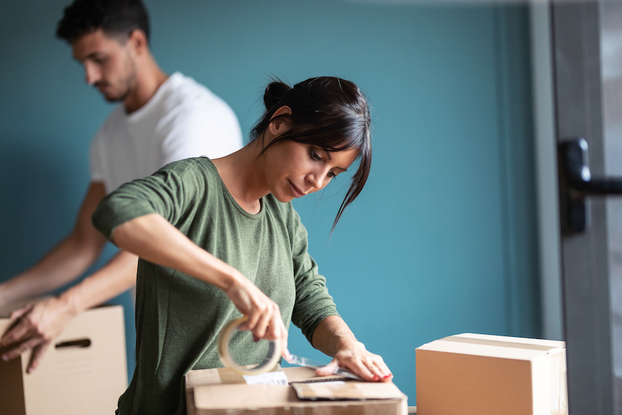 what to pack first when moving house